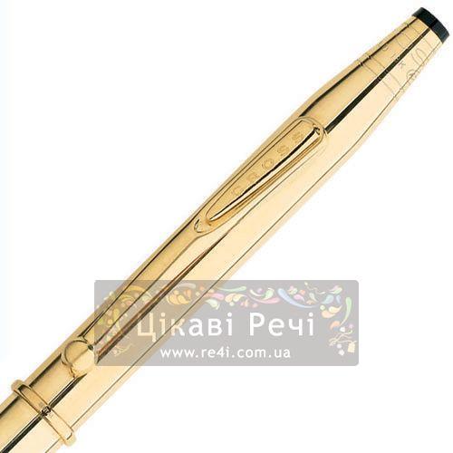 Шариковая ручка Cross Century Signet 18K Gold Filled, фото