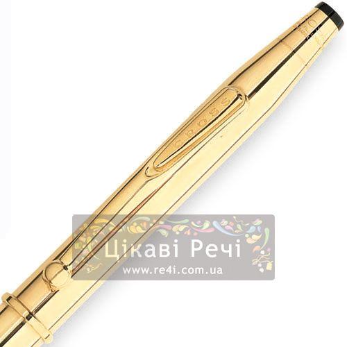 Шариковая ручка Cross Century Signet 23K Gold Plated, фото