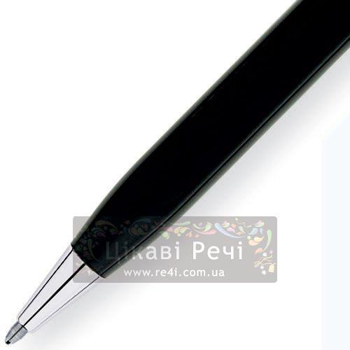 Шариковая ручка Cross Century II Tr.Black Lacquer/Chrome, фото