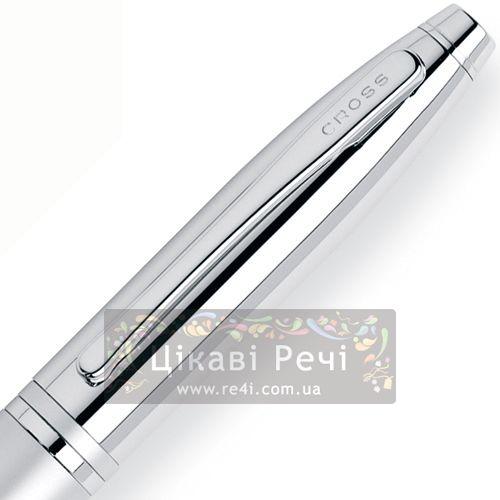 Шариковая ручка Cross Calais Matte Chrome, фото