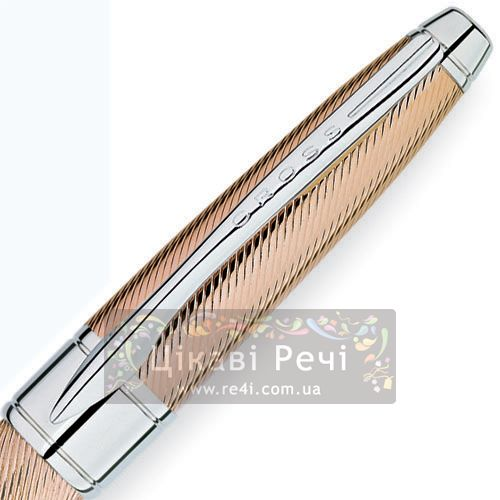 Шариковая ручка Cross Apogee Executive 18K Rose Gold PT, фото
