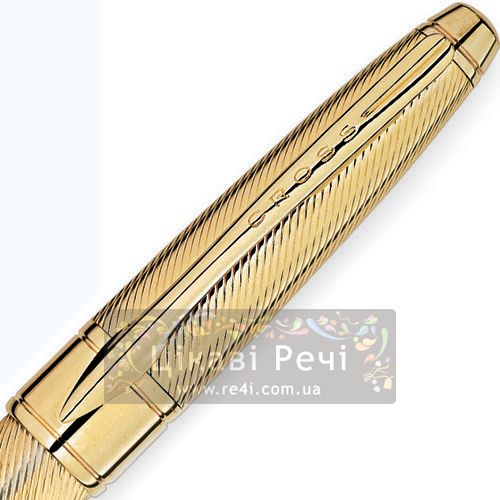 Шариковая ручка Cross Apogee Executive 23K Heavy Gold Plate, фото