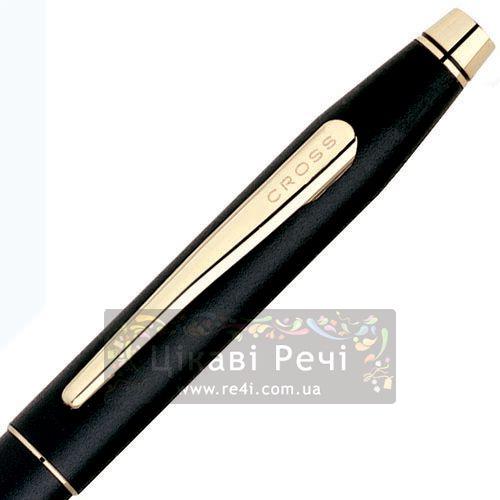 Ручка-роллер Cross Century Classic Black, фото