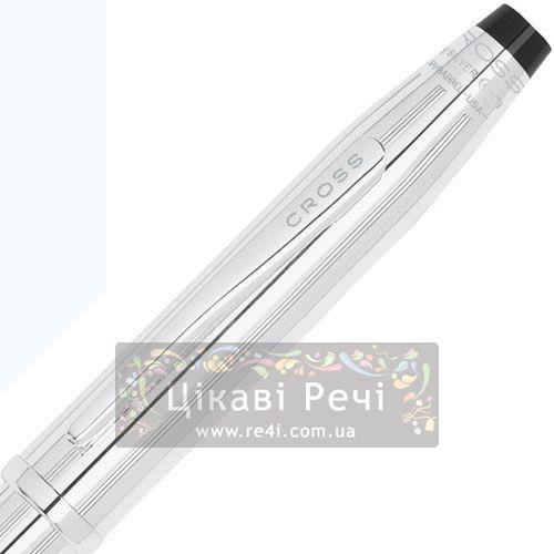 Серебряная шариковая ручка Cross Century II Sterling Silver, фото