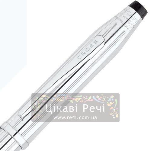 Серебряная перьевая ручка Cross Century II Sterling Silver, фото