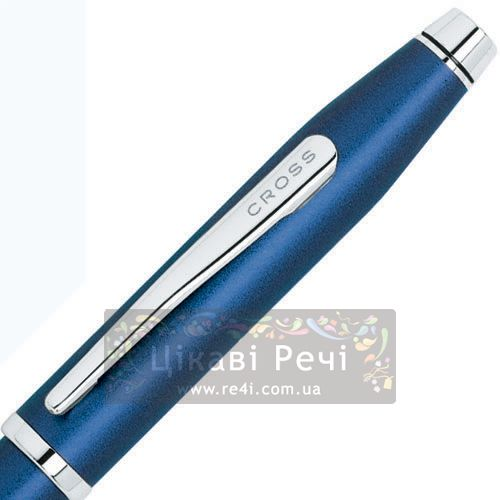 Шариковая ручка Cross Century II Royal Blue CT, фото