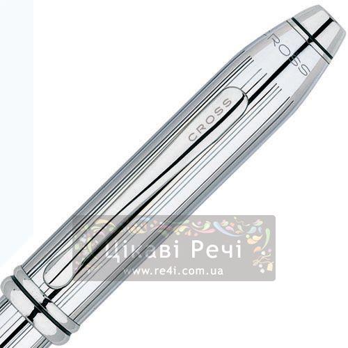 Ручка-роллер Cross Townsend Chrome, фото