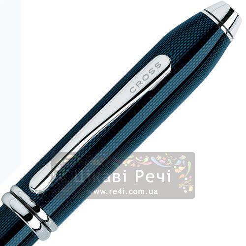 Ручка-роллер Cross Townsend Lacq. Quarts Blue, фото