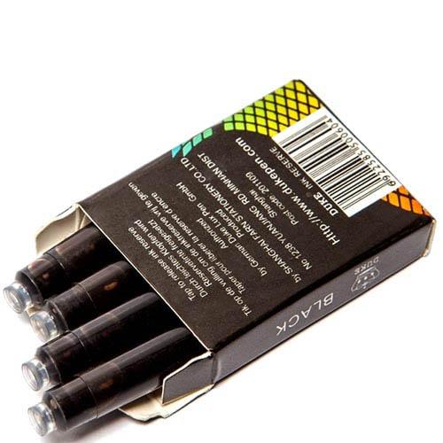 Картриджи Duke черного цвета для перьевых ручек, фото