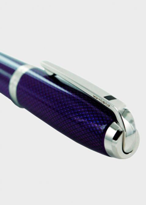 Перьевая ручка S.T.Dupont Olympio Medium с гильошированный корпусом, фото