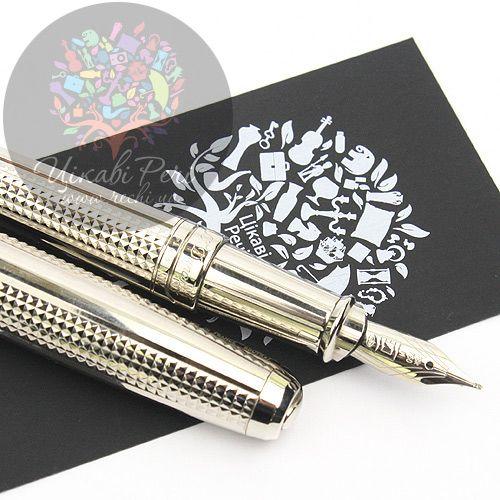 Перьевая ручка S.T. Dupont Olympio L Diamond Heads PP, фото