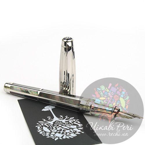 Перьевая ручка S.T. Dupont Olympio XL Black Mother Of Pearl PP, фото