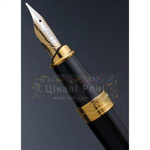 Перьевая ручка S.T. Dupont Olympio XL Black Ch.Lacquer GP, фото