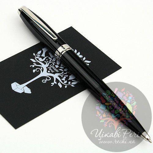 Шариковая ручка S.T. Dupont Olimpio Black Palladium, фото