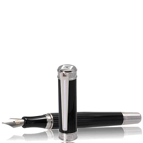 Перьевая рельефная ручка Edelberg Tachys Scope с белой линией, фото