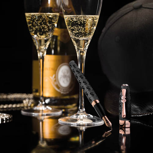 Перьевая ручка Montegrappa Fortuna Cash в стиле Bling-Bling, фото