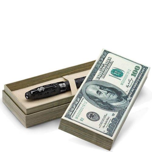Ручка-роллер Montegrappa Fortuna Cash с рутением в стиле Bling-Bling, фото