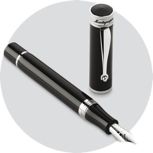 Перьевая ручка Montegrappa Ducale Black Resin, фото