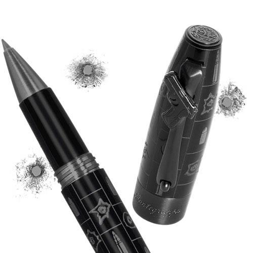 Роллерная ручка Montegrappa Bang Bang в стиле нео-нуарного кино, фото