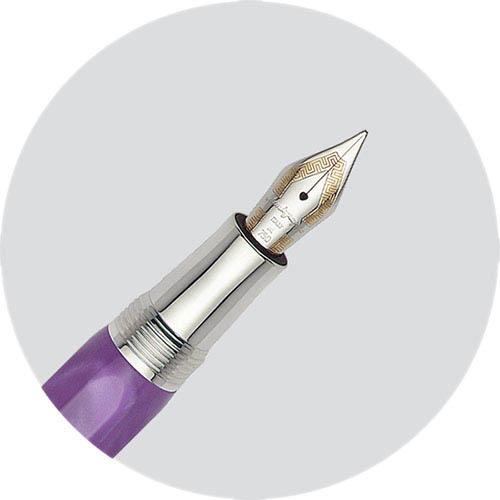 Перьевая ручка Montegrappa Micra Purple с перламутровым корпусом, фото