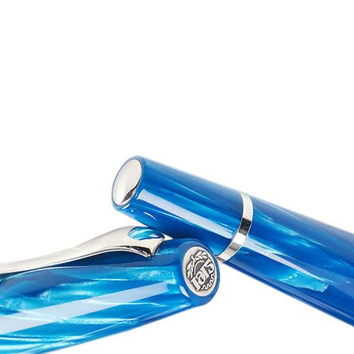Роллеровая голубая ручка Montegrappa Miya Turquoise Blue, фото