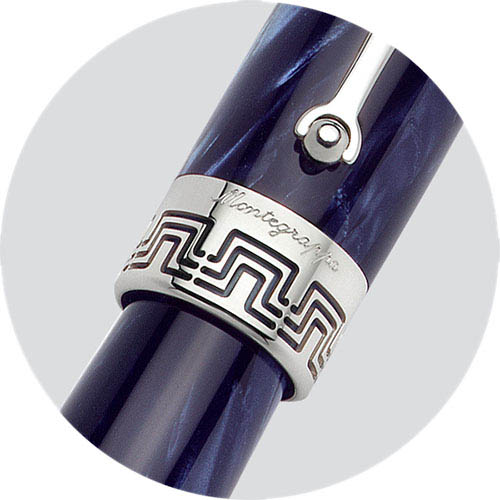 Ручка-роллер Montegrappa Miya Midnight Blue синего цвета, фото