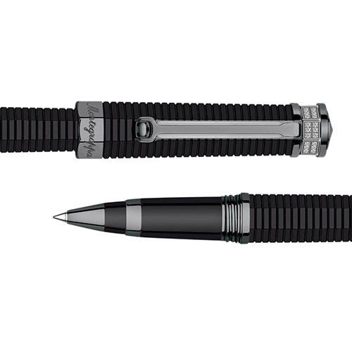 Ручка-роллер Montegrappa NeroUno Pure Brilliance с рутениевым покрытием, фото