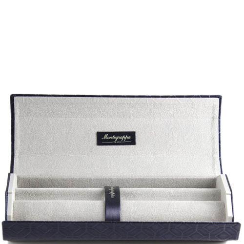 Ручка-роллер Montegrappa NeroUno Pure Brilliance с кристаллами и позолотой, фото