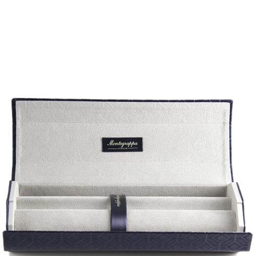 Перьевая ручка Montegrappa NeroUno Pure Brilliance с кристаллами и гравировкой, фото