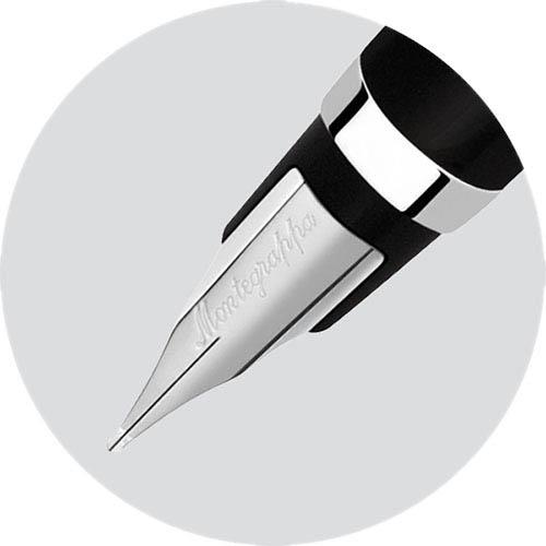 Классическая перьевая ручка Montegrappa Parola Black черного цвета, фото