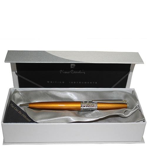 Ручка шариковая Rex Pierre Cardin золотого цвета, фото