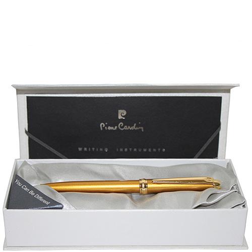 Ручка шариковая Traveller Pierre Cardin золотого цвета, фото