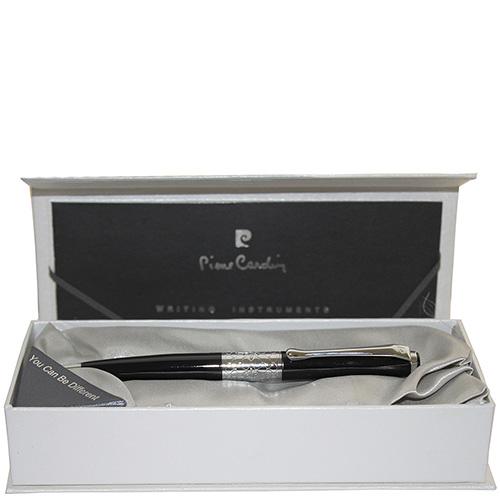Ручка шариковая Versailles Pierre Cardin черного цвета, фото
