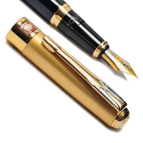 Перьевая ручка Picasso 906 золотисто-черная, фото