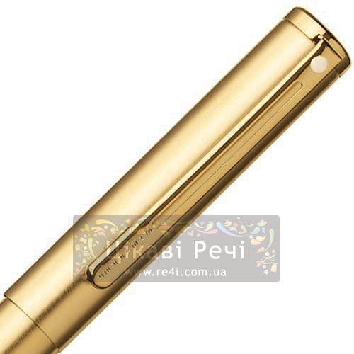 Перьевая ручка Sheaffer Agio Brushed Gold GT, фото