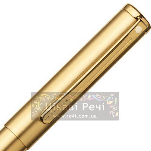 Ручка-роллер Sheaffer Agio Brushed Gold GT, фото
