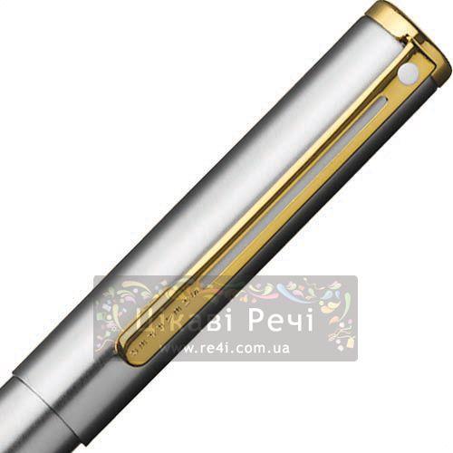Шариковая ручка Sheaffer Agio Compact Brushed Chrome Plated GT, фото