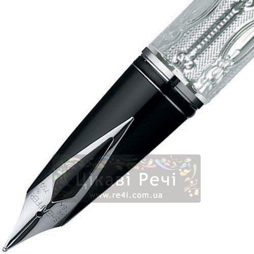 Серебряная перьевая ручка Sheaffer Legacy Victorian Series, фото