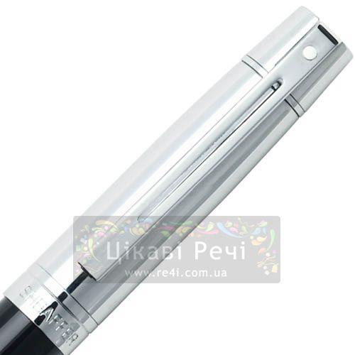 Перьевая ручка Sheaffer Gift Collection 300 Chrome/Glossy Black CT, фото