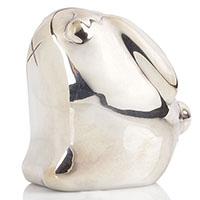 Фигурка посеребренная Christofle Кролик, фото