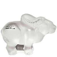 Фигурка быка Lalique хрустальная, фото