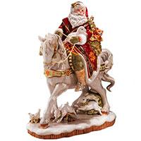 Статуэтка Palais Royal Дед Мороз на коне, фото