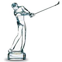 Фигурка Baccarat Игрок в гольф, фото