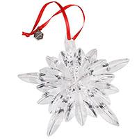 Хрустальная фигурка Baccarat Новогодняя снежинка, фото