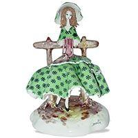 Статуэтка Zampiva Девушка на скамейке, фото