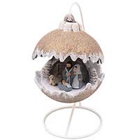 Статуэтка Villa Grazia Новогодний шар с подсветкой, фото