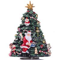 Новогодняя композиция ShiShi Елка и Санта  музыкальная , фото