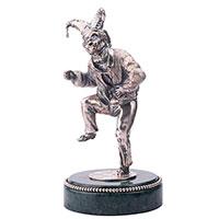 Статуэтка Оникс ручной работы Шут весельчак, фото