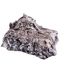 Шкатулка Оникс Хранитель из серебра, фото