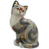 Фигурка De Rosa Rinconada Кошка пятнистая (большая), фото